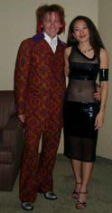 Stan and Cyn at Las Vegas for a little (big) Pavarotti - 2003