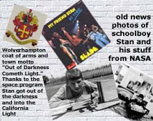Wolverhampton scenes including Slade's My Friend Stan, coat of arms and local coverage of schoolboy Stan with stars in his eyes